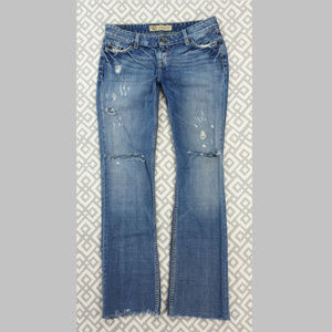 Buckle BKE Sabrina Boot Cut Jeans Ripped 31 X 32